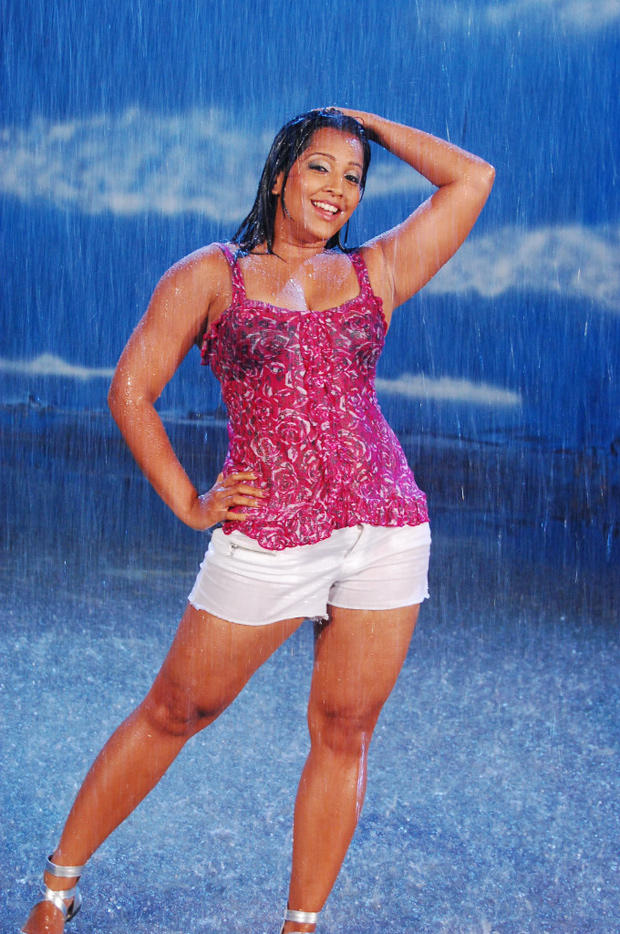 Meghna Naidu Hot Wet Photo Still In Rain