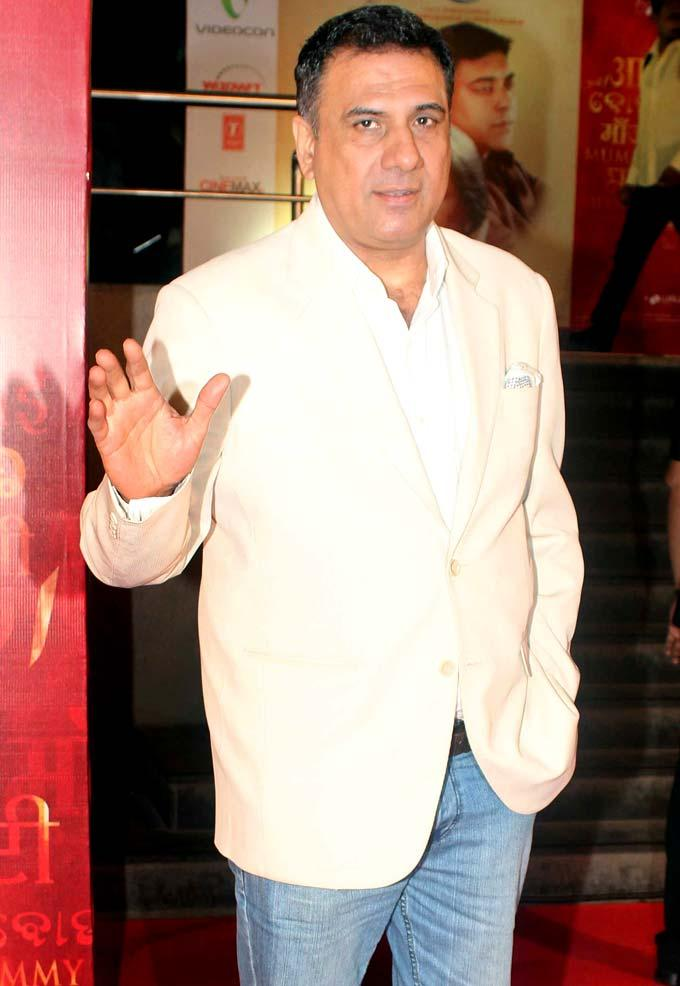 Boman Irani Spotted At The Premiere Of Mai