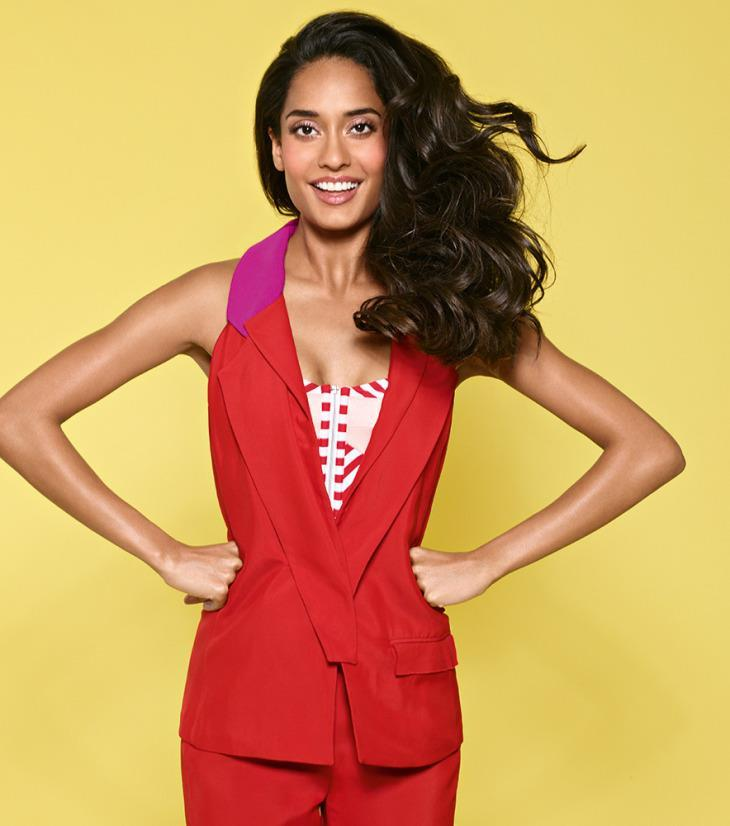 Lisa Haydon Cool And Nice Photo Shoot For Marie Claire India Feb 2013