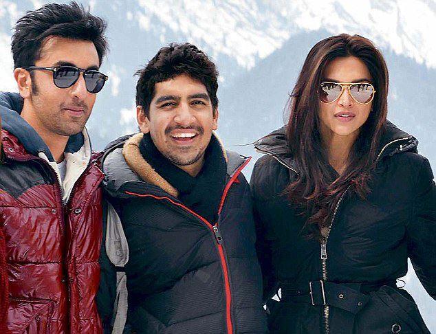 Ranbir Kapoor And Deepika Padukone Shoot For YJHD In Kashmir