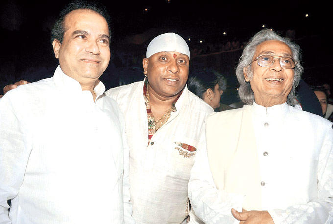 Suresh,Sivamani And Pt. Kartick At A Musical Event For Paying Tribute To Ustad Alla Rakha Khan