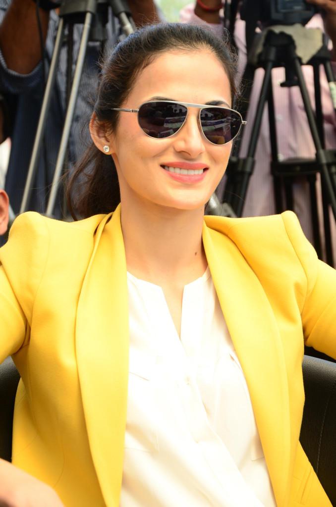 Shilpa Reddy Stylish Look At Apollo Cancer Hospitals Fashion Show
