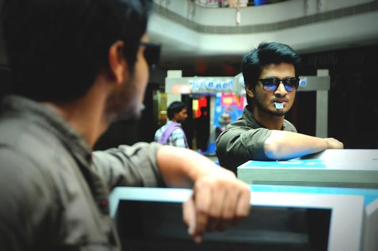 Nikhil Siddharth Stylish Look Still From Swamy Ra Ra Movie