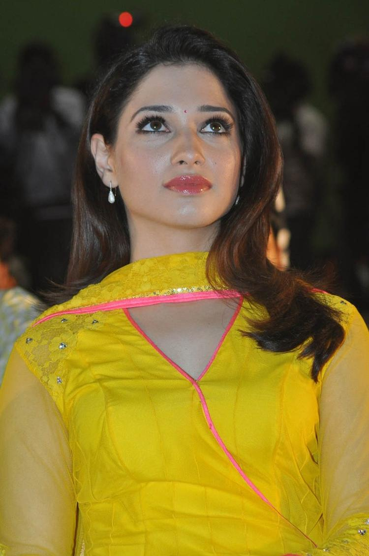 Tamannaah Bhatia Cool Still At Mr Pellikoduku Audio Launch Function