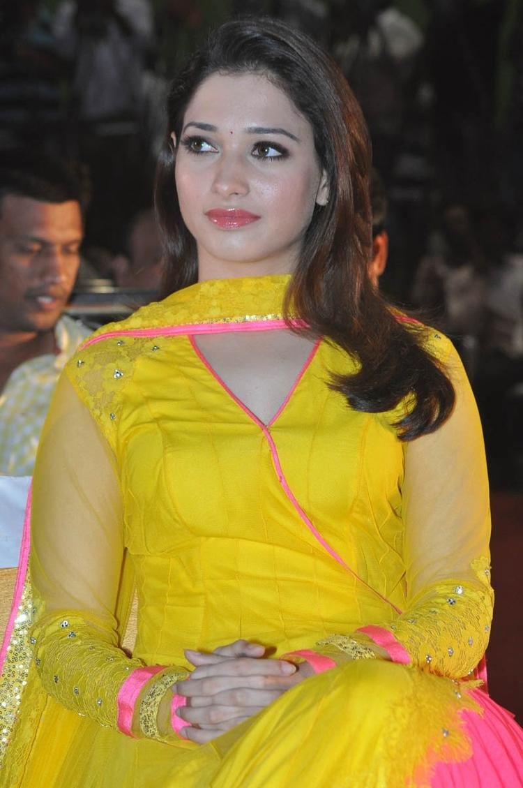 Tamannaah Bhatia Dazzles At Mr Pellikoduku Audio Launch Function