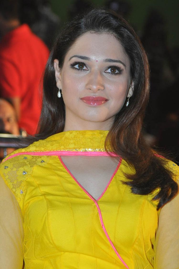 Tamannaah Bhatia Sizzling Look At Mr Pellikoduku Audio Launch Function