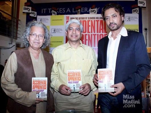 Irrfan Launches Vikas Swarup's Book The Accidental Apprentice