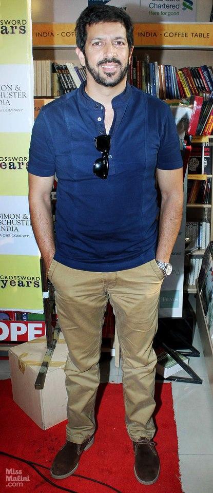 Kabir Khan Posed At Vikas Swarup Book Launch Event