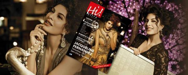 Jaqueline Hot Photo Still On The Cover Of Hi BLITZ Feb 2013