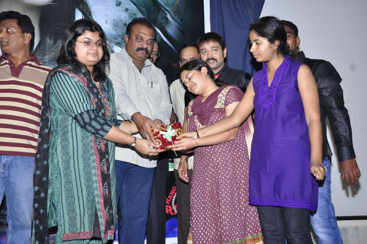 Kiran And Guests Snapped During The Audio Launch Of Movie Nisha