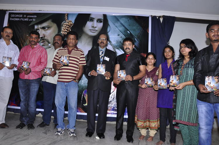 Kiran And The Team Photo Clicked At Nisha Audio Launch