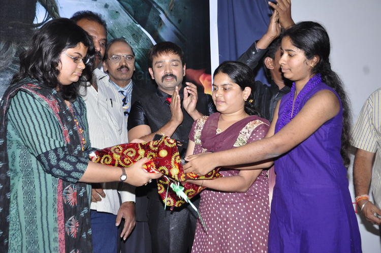 Kiran Clapping During The Audio Launch Of Movie Nisha