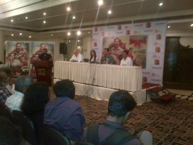 Akshay,Anupam,Kajal And Manoj Address The Media At Nagpur