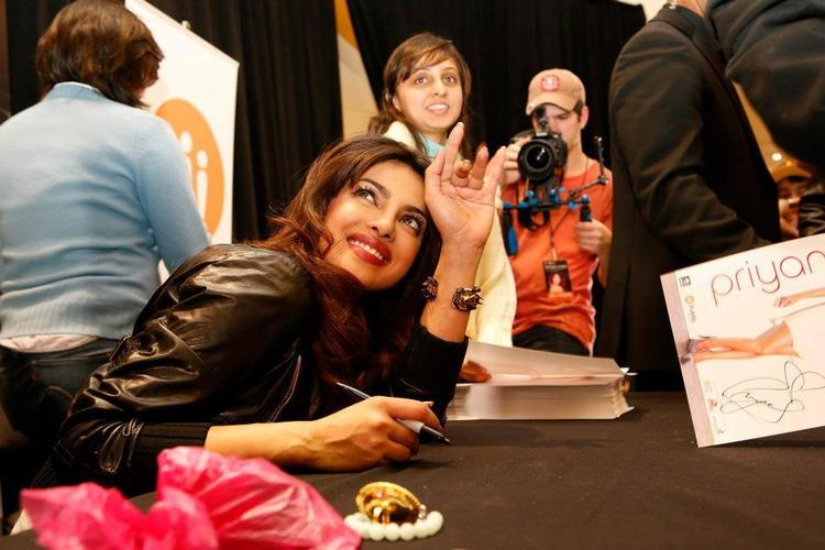 Priyanka Chopra Greets Her Fans At Bramalea City Center
