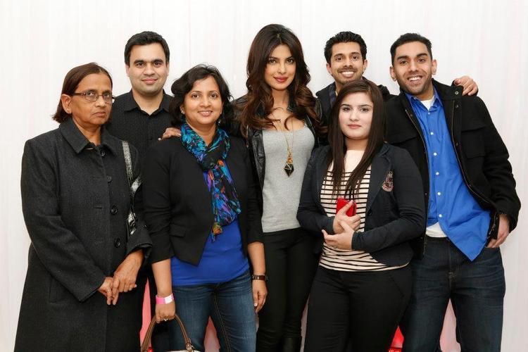 Priyanka Chopra With Her Fans Cool Photo Still