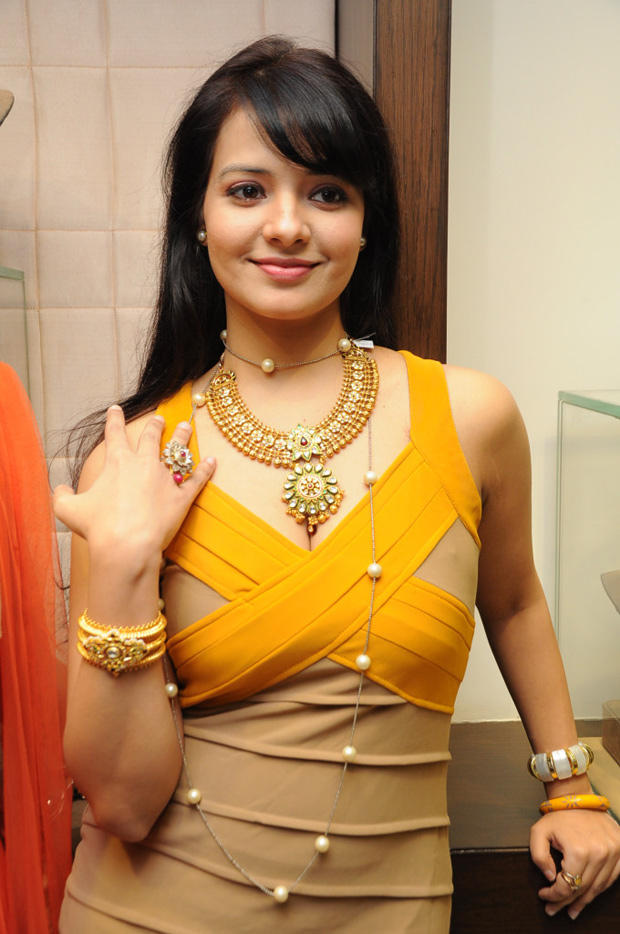 Saloni Aswani Spicy Look At Hiya Jewellers Launch Event