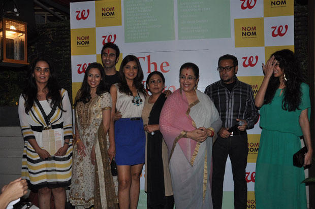 Gulshan,Dipannita,Achla,Poonam And Anju Clicked At Anuradha Sawhney Vegan Book Launch Event