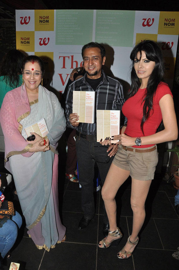 Sherlyn,Gulshan And Poonam Launched The Book At Anuradha Sawhney Vegan Book Launch Event