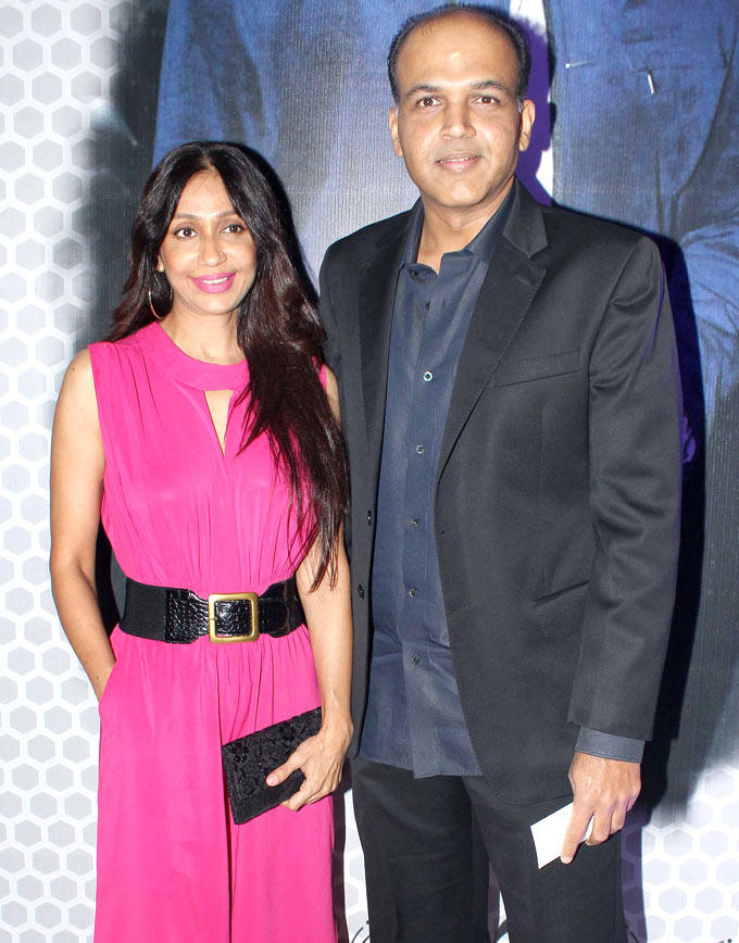 Ashutosh With Wife Sunita Posed For Camera At Global Sounds Of Peace Live Concert
