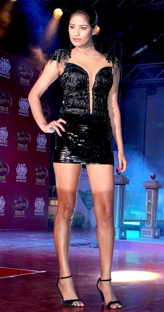 Poonam Pandey Promotes Her Upcoming Film Nasha At Pria Kataria Puri's Fashion Show