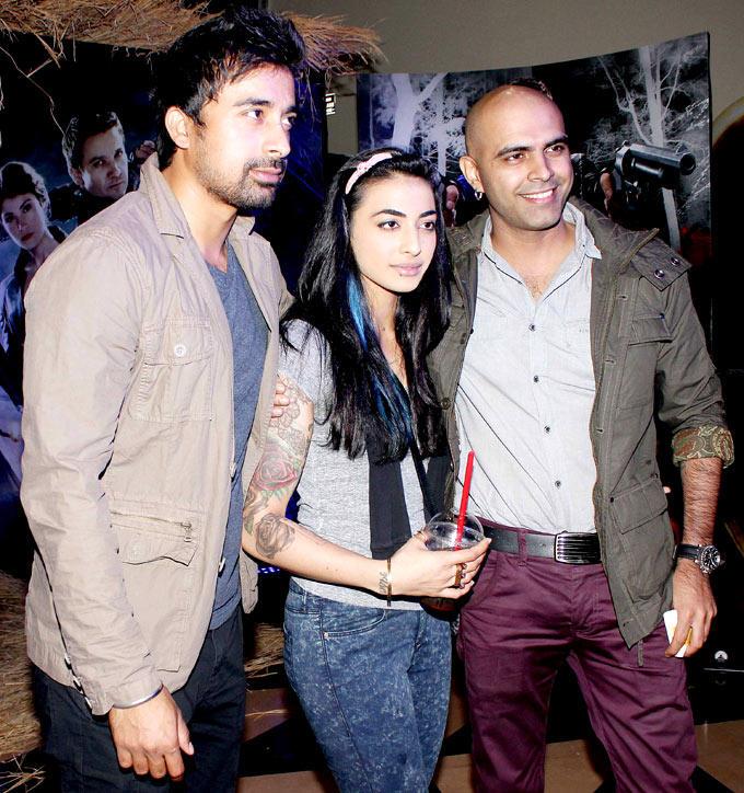 Rannvijay,VJ Bani And Raghu At Hansel Gretel Premiere Event