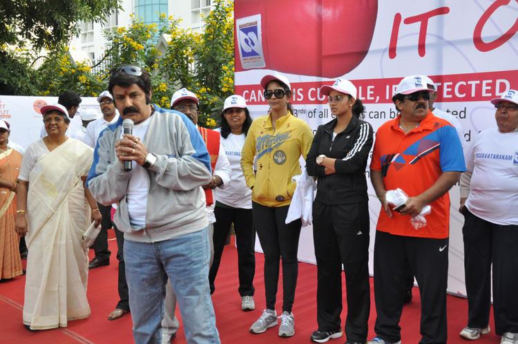 Lakshmi,Balakrishna And Sania Graced At Cancer Awareness 2013 Event