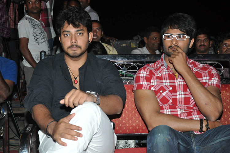 Naga Sudhir With Tanish Enjoyed The Programme At Abbai Class Ammai Mass Audio Launch Function