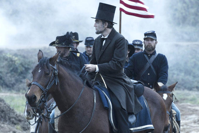 Daniel Day-Lewis As Lincoln In Lincoln Movie
