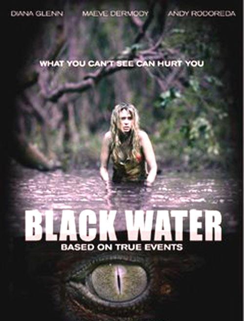 Diana Glenn In Black Water Movie Poster