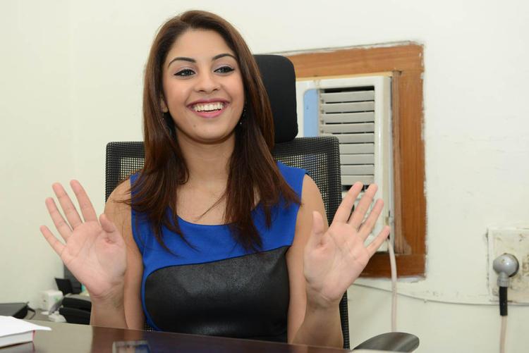 Richa Gangopadhyay Cool Smiling Still