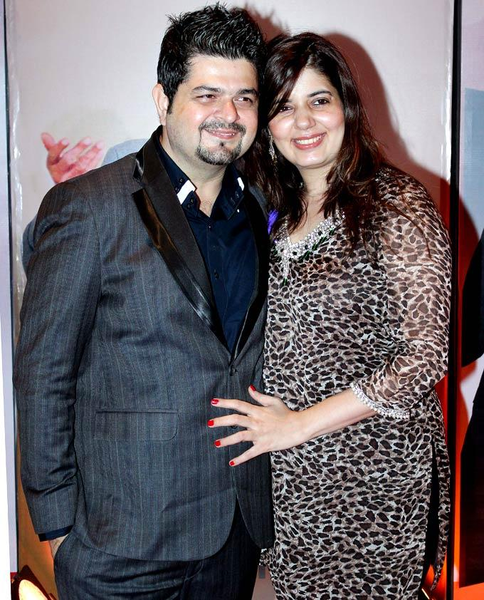 Dabboo Ratnani With Wife Manisha Ratnani Posed At HT Most Stylish Awards 2013