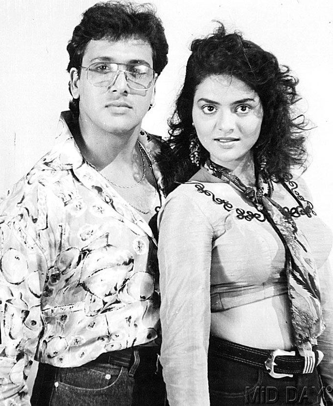 Madhoo Shah And Govinda Cool Still