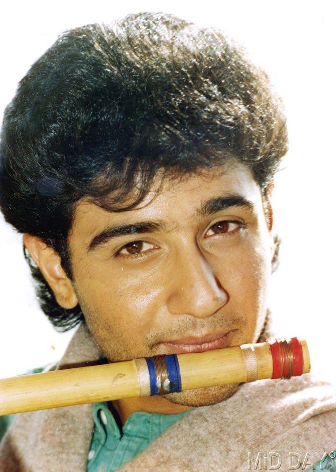 Vivek Mushran With Flute Nice Photo