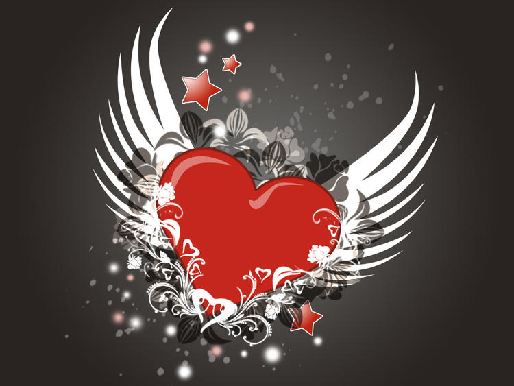 Love Birds Valentines Day 2013 Greetings Wallpapers