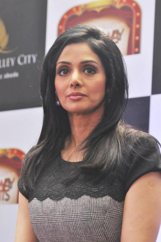 Sridevi Kapoor At Aamby Valley Broadway Delights Launch