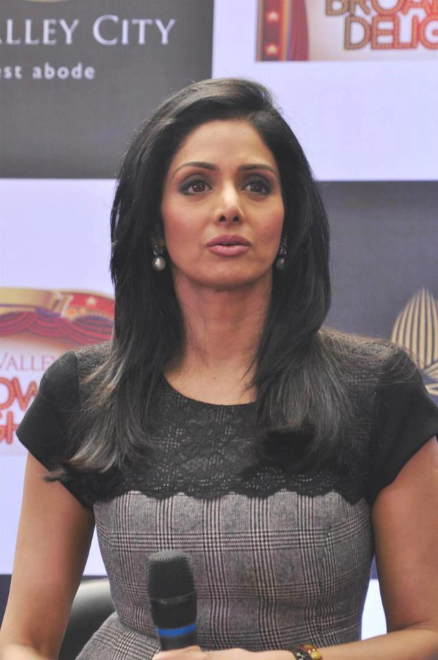 Sridevi Kapoor Dazzles At Aamby Valley Broadway Delights Launch