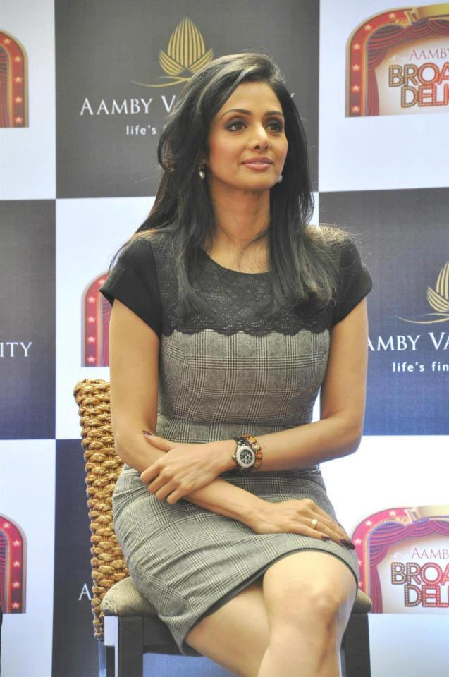 Sridevi Kapoor Graced At Aamby Valley Broadway Delights Launch