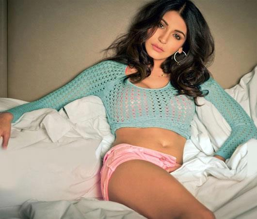 Anushka Sharma Exclusive Hot Photo Shoot For Maxim India Feb 2013