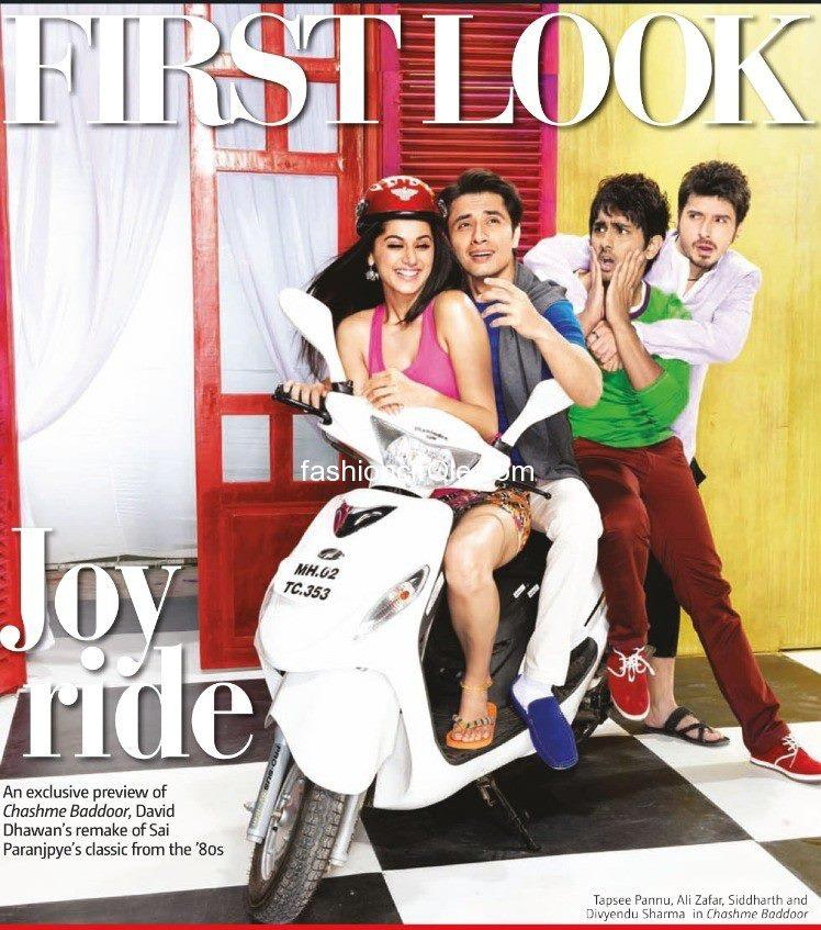 The First Look Posters Of Chashme Baddoor