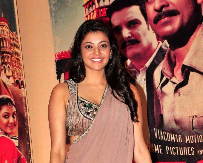 Kajal Strike A Pose At Special Chabbis Audio Release Function