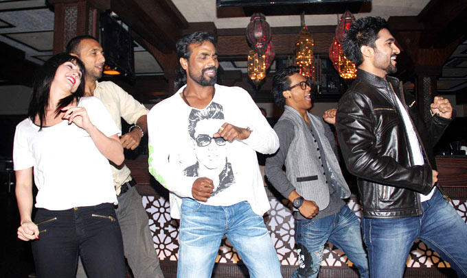 Lauren,Punit,Remo,Saajan And Salman Danced At Any Body Can Dance Success Bash
