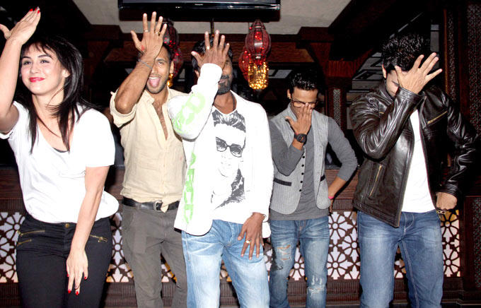 Lauren,Punit,Remo,Saajan And Salman Perform At Any Body Can Dance Success Bash