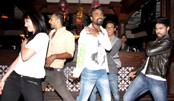Lauren,Punit,Remo,Saajan And Salman Rocked At Any Body Can Dance Success Bash