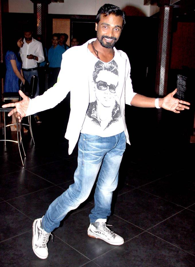 Remo D'Souza Poses To The Shutterbugs During The Success Bash Of Movie ABCD