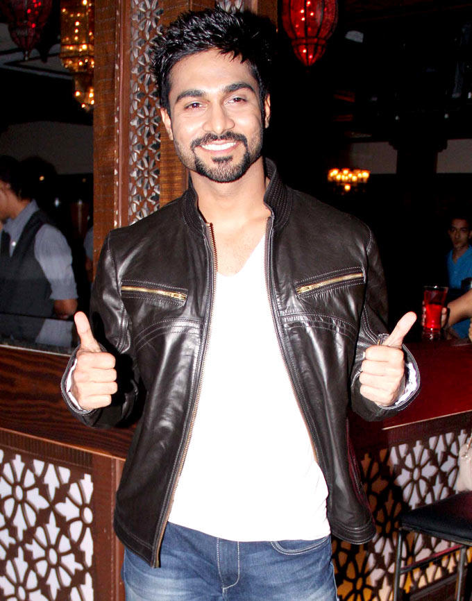 Salman Yusuf Khan Strikes A Pose At Any Body Can Dance Success Bash