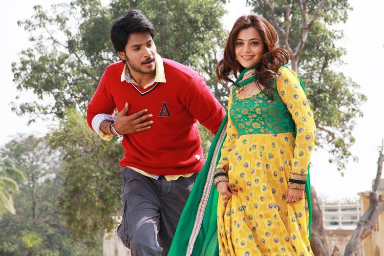 Sundeep Kishan And Nisha Aggarwal Dancing Still From D.K.Bose Movie