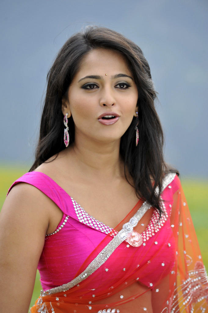 Anushka Shetty In Saree Cute Look Still