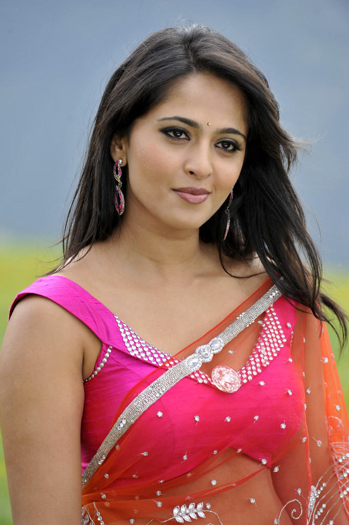 Anushka Shetty In Saree Stunning Look Still