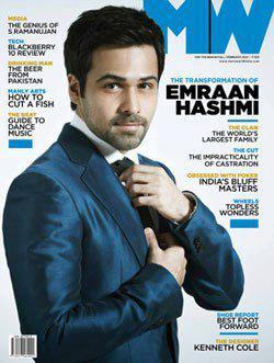 Emraan Hashmi On The Cover Of Man's World India February 2013