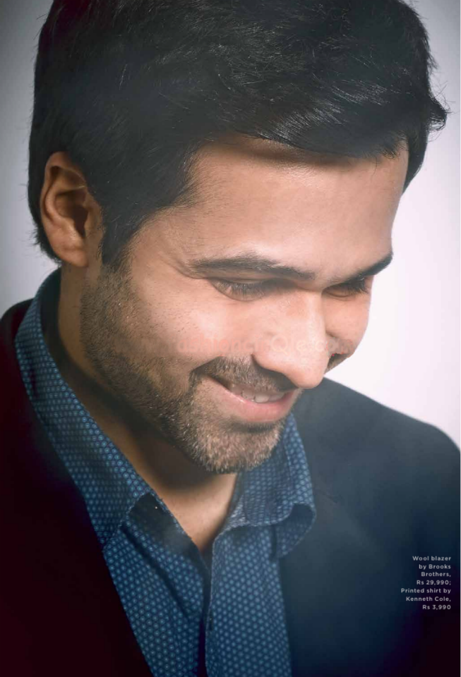 Emraan Hashmi Smiling Pose Photo Shoot For Man's World India February 2013